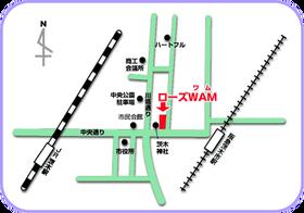 ローズWAM地図